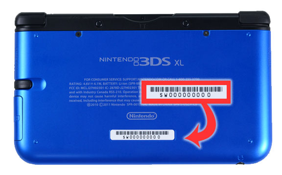 Nintendo 3ds Serial Number Cw